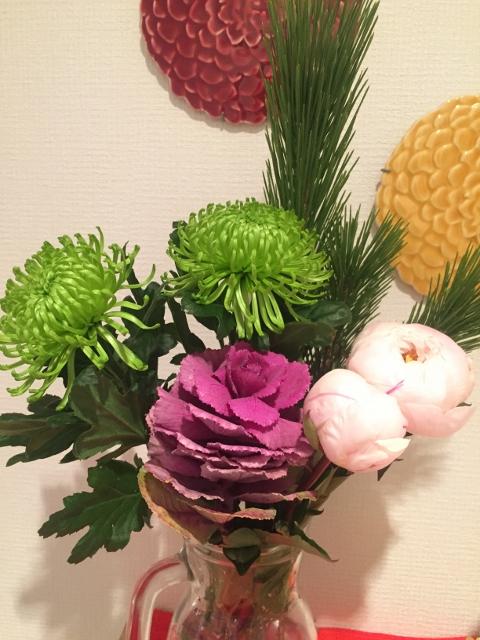 お正月の花2016